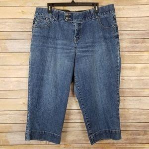 Lane Bryant Capri Jeans Size 16